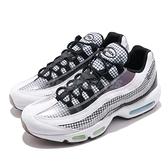 【六折特賣】Nike 休閒鞋 Air Max 95 LV8 白 黑 氣墊 透明材質 運動鞋 男鞋【ACS】 AO2450-100