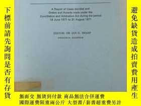 二手書博民逛書店英文書罕見commonwealth arbitration reports volume 139 聯邦仲裁報告 1
