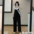 2020新款韓版減齡寬鬆吊帶褲連體吊帶褲...