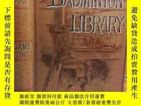 二手書博民逛書店1894年罕見BIG GAME SHOOTING 含大量插圖 有
