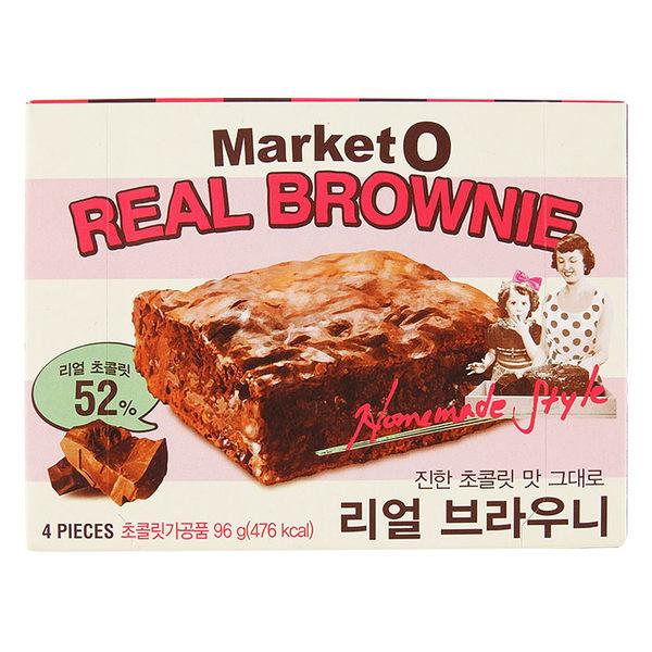 韓國 Market O 布朗尼蛋糕(巧克力) 96g 進口/團購/零嘴/餅乾◆86小舖◆