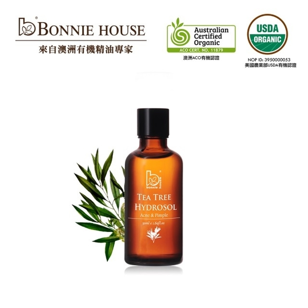 【Bonnie House 植享家】茶樹純露50ml 效期2022.01【淨妍美肌】