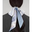 夏季絲巾小長條女領帶細窄飄帶編發絲帶領巾綁包腰帶發帶 黛尼時尚精品