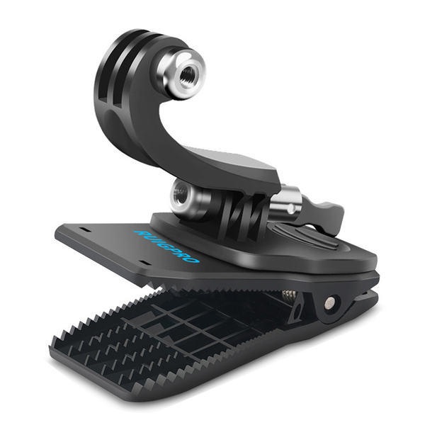 GOPRO 副廠 可調角度背包夾 適用多款運動相機