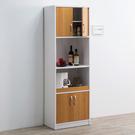 廚房櫃 櫥櫃 收納 【收納屋】米斯高四門二格廚櫃&DIY組合傢俱