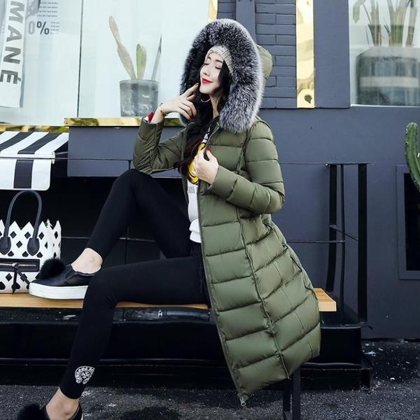 長款外套女 大碼加厚兩面穿羽絨棉服女士中長款棉衣時尚棉襖外套冬季新品【快速出貨八五鉅惠】