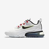 Nike W Air Max 270 React [CZ6685-100] 女鞋 運動 慢跑 籃球 緩震 穿搭 白 黑