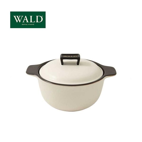 義大利WALD陶鍋系列-20cm燉鍋(粉白-有原裝彩盒)