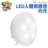 精準儀錶旗艦店人體感應燈LED 白光小夜燈感應夜燈衣櫃感應燈MET SLED5W