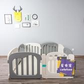 遊戲圍欄 游戲圍欄兒童兒童室內家用柵欄學步游樂園滑梯秋千T 7色