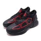 adidas 籃球鞋 D Rose 10 黑 紅 男鞋 運動鞋 飆風玫瑰 【PUMP306】 G26162