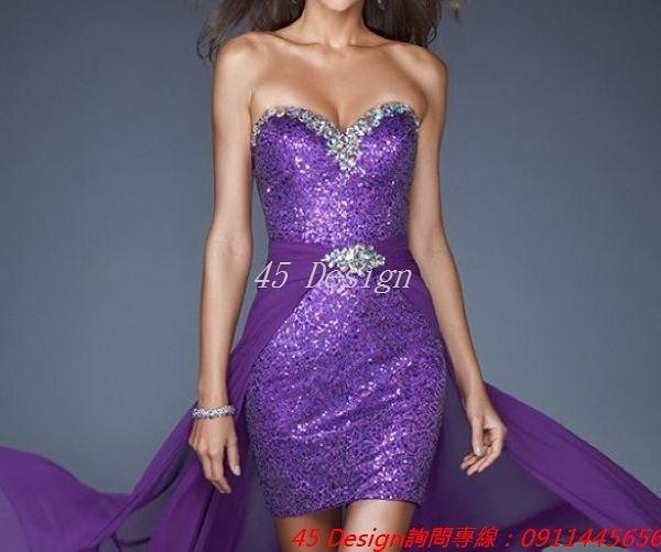 (45 Design) 訂做款式7天到貨 專業訂製款 中大尺碼 定做顏色 長款洋裝 禮服 結婚 喜宴 旗袍禮服