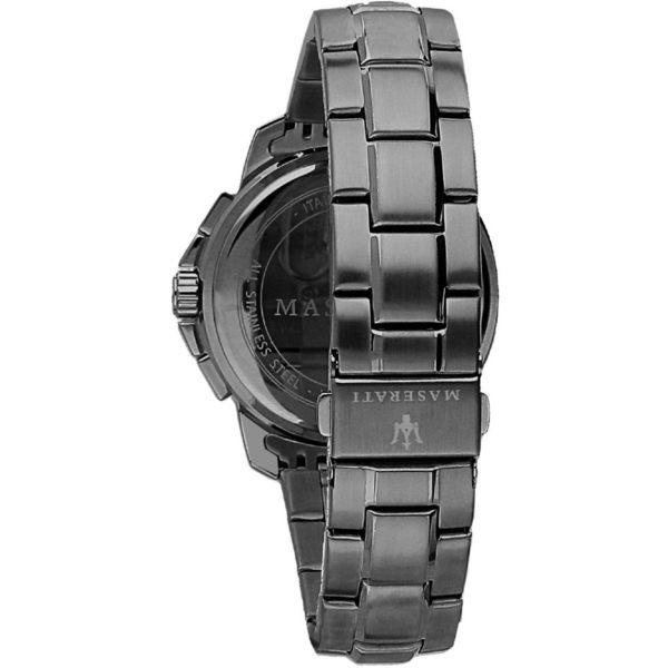 ★MASERATI WATCH★-瑪莎拉蒂手錶-三眼炫黑款-R8873621005-錶現精品公司-原廠正貨-鏡面保固一年