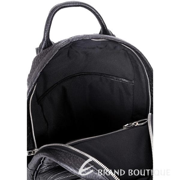 ALEXANDER WANG DUMBO 牛皮鉚釘後背包(黑色) 1610149-01