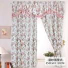 莫菲思 【芸佳】采風花語柔紗系列窗簾 藍情紛花- 150X120 (10色任選)