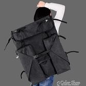 畫板袋加厚雙肩美術生休閒帆布畫包4K畫袋美術袋畫板包寫生多功能收納 交換禮物 YYP