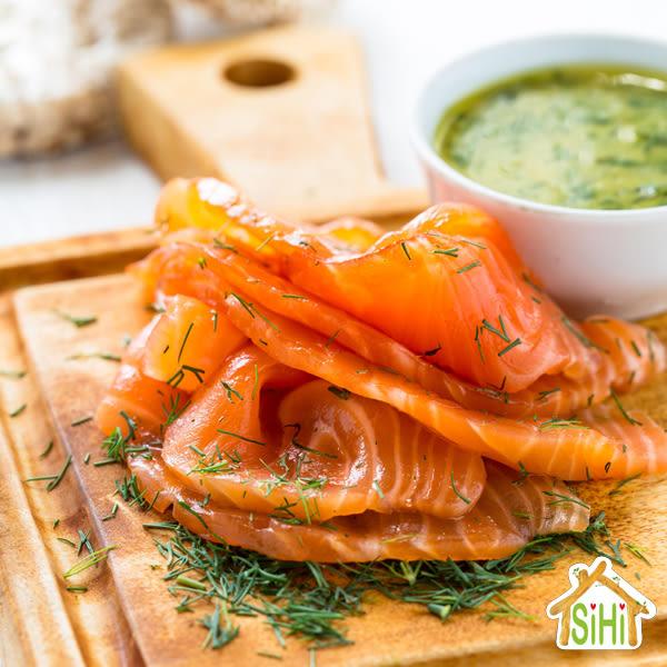 美食饗宴-北歐煙燻鮭魚【喜愛屋】