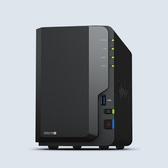 Synology DiskStation DS218+ 2 BAY全方位網路儲存NAS【附WD40EFRX-1硬碟*2】