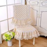 中式純色棉麻亞麻面料椅子套罩現代簡約家用清新方形背靠通用【寶貝開學季】