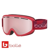 法國 Bolle SCHUSS 雙層鏡片設計 防霧雪鏡 霧紅/朱紅金 #21809