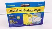 科克蘭 家用清潔濕紙巾 一箱四包 檸檬 清新 香味 濕紙巾 好市多 超取限一箱