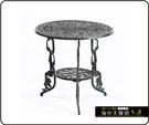 {{ 海中天休閒傢俱廣場 }} G-52 戶外時尚 鋁合金桌椅系列 13-4 66cm玫瑰圓桌