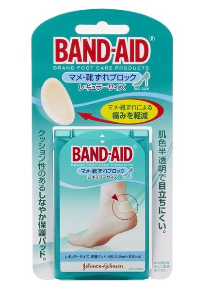 Band-Aid 腳跟保護貼 4入