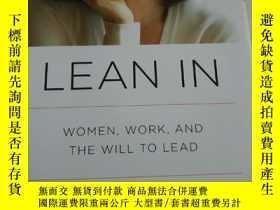 二手書博民逛書店Lean罕見In: Women, Work, and the W