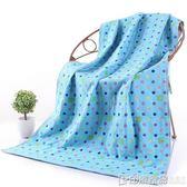 紗布純棉成人男女新生嬰幼兒童吸水柔軟家用大浴巾 印象家品旗艦店