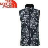 【The North Face 女款 ThermoBall背心《黑色印花》】363UYBF/保暖/防潑水/鋪棉背心★滿額送