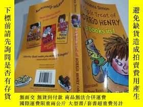 二手書博民逛書店a罕見triple treat of horrid henry三重對待可怕的亨利Y212829 不祥 不祥