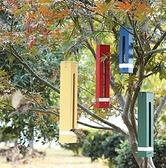 餵鳥器 北歐時光彩帶專業喂鳥器庭院裝飾戶外懸掛式防雨喂食器幼兒園陽臺