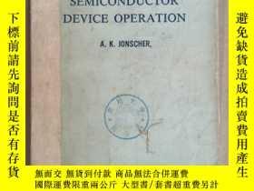 二手書博民逛書店principles罕見of semiconductor device operation(P1044)Y17
