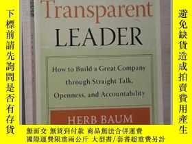 二手書博民逛書店《罕見The Transparent Leader 》Herb