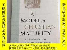 二手書博民逛書店A罕見Model of Christian Maturity 書
