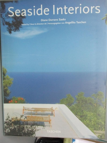 【書寶二手書T2/設計_ZCC】Seaside Interiors / Interieurs De La Cote /