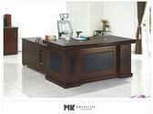 【MK億騰傢俱】ES603-02布萊恩5.8尺主管辦公桌(不含側櫃、活動櫃)