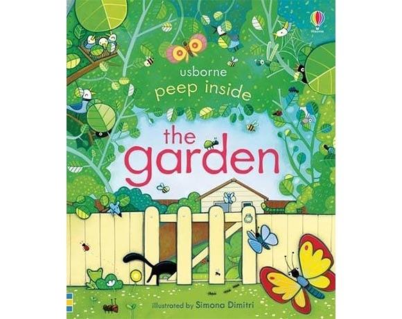 Peep Inside The Garden 瞧瞧看翻頁操作書:居家花園