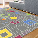 范登伯格 普利★帥性風味進口地毯-方格-140x195cm