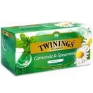 英國唐寧茶 TWININGS-菊香薄荷茶包 CAMOMILE & SPEAMINT 1.5g*25入-【良鎂咖啡精品館】