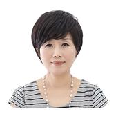 整頂假髮(真髮絲)-氣質微捲短髮逼真女假髮2色73vc45【時尚巴黎】