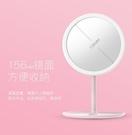 led化妝鏡帶燈日光鏡美妝鏡子化妝鏡女臺式LED化妝鏡補光臺式