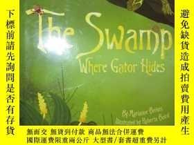 二手書博民逛書店The罕見Swamp Where Gator Hides 【詳見圖】Y255351 Marianne Berk