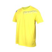 KAPPA 男圓領短袖T恤(台灣製 運動上衣 吸濕排汗 慢跑 路跑 免運 ≡排汗專家≡
