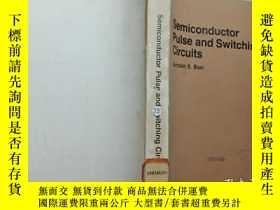 二手書博民逛書店Semiconductor罕見Pulse and Switchi