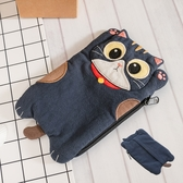 Kiro貓‧賓士貓 立體造型 零錢包/面紙收納包【222945】