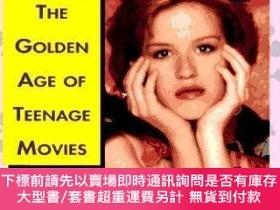 二手書博民逛書店Pretty罕見In Pink: The Golden Age of Teenage Movies-粉紅美人:青少
