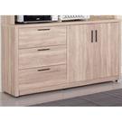 櫥櫃 餐櫃 SB-336-3 高爾4尺橡木紋碗盤櫃下座【大眾家居舘】