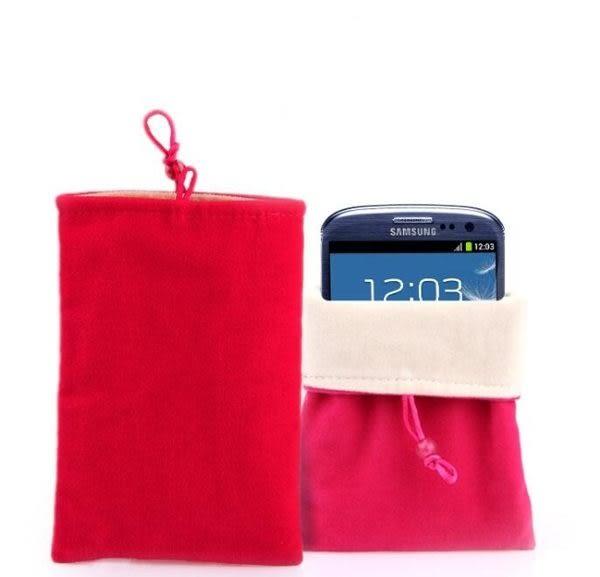 [24H 現貨快出] 5吋絨布袋 手機袋 支援 htc 蘋果 iphone7 plus i6s oppo r9s 蘋果 iphone SONY z1 -顏色隨機