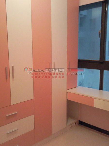 【歐雅系統家具】衣櫥櫃搭窗邊書桌櫃